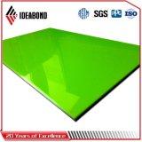 Ideabond annonçant le panneau composé en aluminium de polyester de panneau