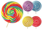 Swirl Candy and Hard Candy for Leisure Time