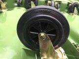 صفراء [660لت] [وست كنتينر] بلاستيكيّة مع 4 عربة ذو عجلات