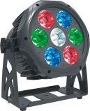 Новый свет РАВЕНСТВА прибытия 7*10W RGBW 4in1 для напольной пользы
