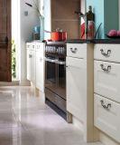 Keukenkasten van de Stijl van het Meubilair van het huis de Witte Europese Stevige Houten