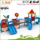 아이들의 판매를 위한 옥외 운동장 장비. 중국에 있는 운동장 설비 제조업자