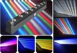 8*10W LEDのStage/DJ/Disco/Party/Wedding/Nightclub LEDの移動ヘッドライトのための移動ヘッドビームライトNj-L8a