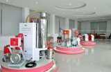 Der 160 Kilogramm-Trockner-Zufuhrbehälter-Plastikkörnchen verwendeten Zufuhrbehälter-Trockner-Maschinen-trocknenden Trockner-Plastikzufuhrbehälter