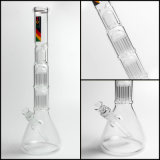 Hfy Glass Hookah Tubo de água Zob Mini Double 10 Arm Tree Beaker Tabacco