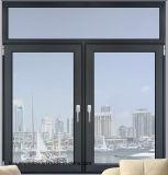 Двойник застеклил подгонянное алюминиевое окно Casement