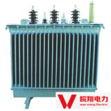 Transformateur de distribution/transformateur d'alimentation électrique immergé dans l'huile
