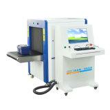 La estación de tren del aeropuerto de rayos X escáner de equipaje