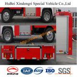 espuma de 4tons Isuzu y coche de bomberos Euro2 del agua