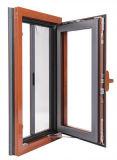 여닫이 창 알루미늄 목제 Windows