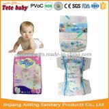 Fralda Pampered do tecido do bebê do projeto absorção elevada ultra fina nova colorida