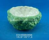 手塗りの陶磁器の野菜パスタボール