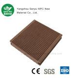 Revestimento de madeira material verde Wearable da grão WPC