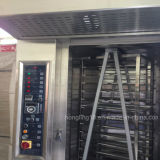 Forno giratório do gás da bandeja dos fornecedores 32 do equipamento da padaria das vendas por atacado