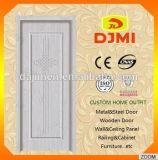 Porte simple de portes en bois intérieures