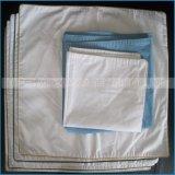 Qualität und preiswertes weißes Satin-Baumwollkissen-Shell