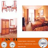 Insieme standard della mobilia della camera da letto dell'hotel della mobilia di legno