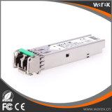 Ricetrasmettitore 100BASE-ZX compatibile 1550nm 80km di GLC-FE-100ZX SFP
