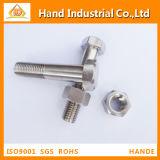 Incoloy 800 1.4876 boulon d'hexa de N08800 DIN931