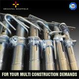 Apoyo ajustable constructivo del acero del andamio del soporte