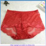 Bragas atractivas de la alta cintura de la manera del cordón de las mujeres