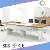 Mesa de reuniones de madera del escritorio de la oficina de lujo