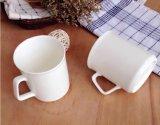 Directo taza barata blanca de cerámica del diseño de encargo de Morden de la venta