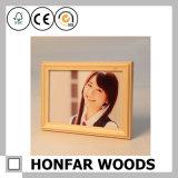 Cornice naturale di prima scelta della foto di legno solido