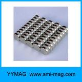 De gesinterde Magneten van het Neodymium van de Zeldzame aarde Krachtige Ronde Permanente