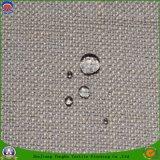 Tela revestida impermeável tecida da cortina do escurecimento do rebanho do franco da tela do poliéster do fornecedor de matéria têxtil