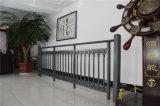 Balcón de acero galvanizado decorativo de alta calidad 6 que cercan con barandilla de la aleación de Haohan Alluminum