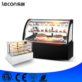 상업적인 체더링 장비 탁상용 케이크 진열장 전시 냉장고