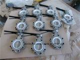 Клапан-бабочка высокой эффективности нержавеющей стали (D37L1X-10/16)