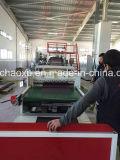 Abnehmer in hohem Grade verbesserte PC Plastikblatt-Strangpresßling-Maschine in Chaoxu Company