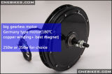 36V/48V Brushless Motor van de Hub Gearless voor Elektrische Fiets