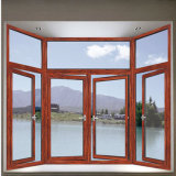 Disegno temperato blocco per grafici di alluminio della finestra aperta dell'oscillazione degli occhiali di protezione del metallo