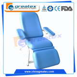 Einfache Metallrahmen-Unterseite mit bequemem Deckel-medizinische Prüfung-Stuhl (GT-BC203)