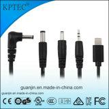 Kptec AC / DC cargador USB con el certificado del CE de 5V 1A