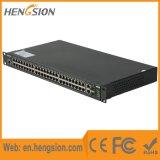 Controlado 50 Tx e interruptor do Ethernet de 2 de SFP do gigabit portas