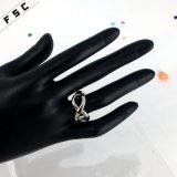 2017 anillos de dedo de lujo hechos a mano promocionales de las mujeres del Bowknot para las mujeres