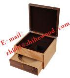 Tè che impacca casella di legno|Doppio di legno