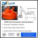 Магнит землечерпалки Dia-1200mm с кругом обязаностей Emw-120L/1-75 75%