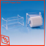 El contador de acrílico coloca los soportes del cubo para la visualización