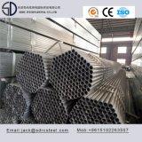 Труба углерода структурно круглая Pre-Гальванизированная стальная