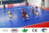 Reducción del choque, suelo de la corte de Futsal de la prueba del agua para los cabritos y mayores