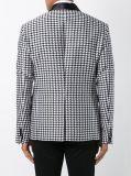 Mann-Form-Tweed Houndstooth Blazer für Freund