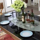 Contemporain dinant la patte de Tableau d'acier inoxydable avec la maison et le jardin