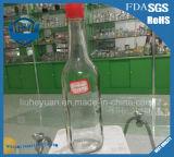 прозрачная бессвинцовая стеклянная бутылка масла сезама бутылки соуса 500ml