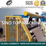 Machine ondulée d'âme en nid d'abeilles de papier d'emballage de constructeur de la Chine