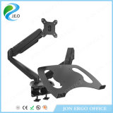 Jeo Support One Ordinateur portable et un écran d'ordinateur réglable en hauteur Ys-GM224u-D Desk Clamp Monitor Riser